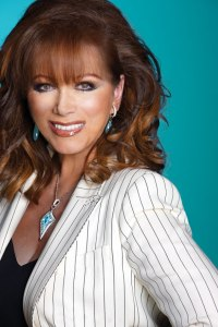 Jackie Collins: in the flesh!