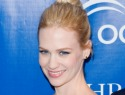 January Jones talks slapping kids and motherhood