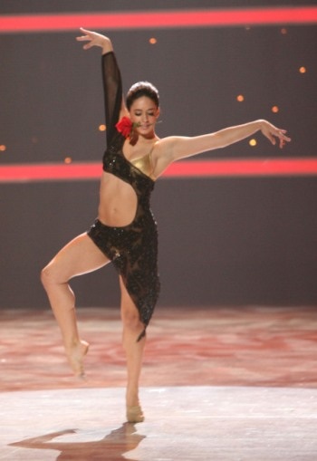 Jeanine does her solo that clinches the SYTYCD champsionship