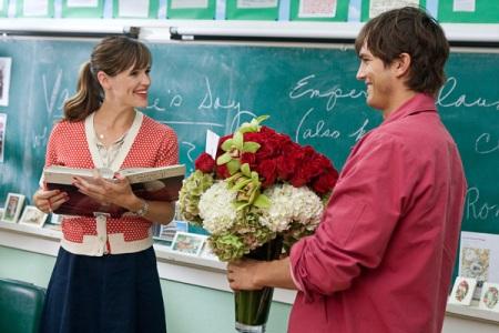 Jennifer Garner and Ashton Kutcher in Valentine's Day
