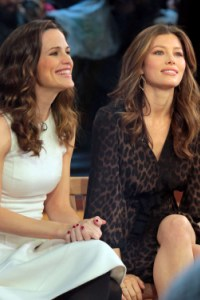 Jennifer Garner and Jessica Biel