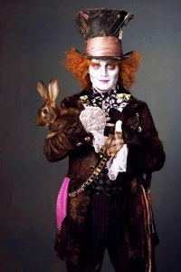 Depp does the Mad Hatter