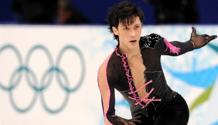 Johnny Weir at the 2010 Vancouver Olympics