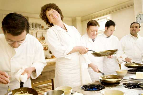 Julia Child was the only woman in her French culinary school