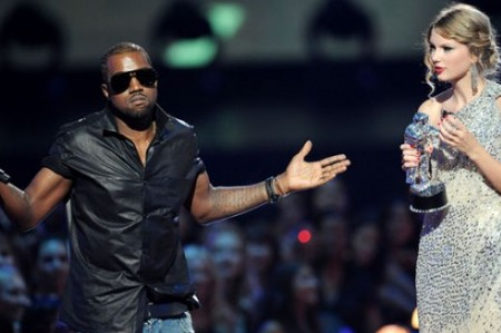 Who me, Kanye West? I didn't do anything to Taylor Swift!