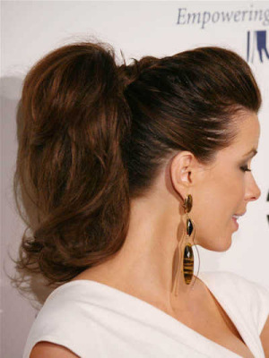 Admirable High Ponytail Hairstyles With Bump For Comeliness Comely Hairstyles Short Hairstyles Gunalazisus