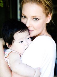 Katherine and Naleigh Heigl