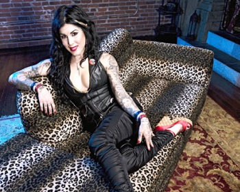 Kat Von D is back and ready to tattoo