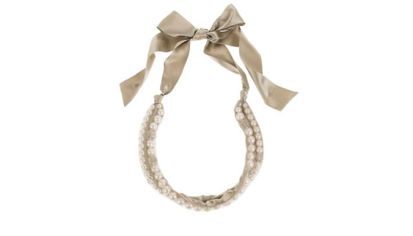 Lanvin Two-Strand Pearl Necklace