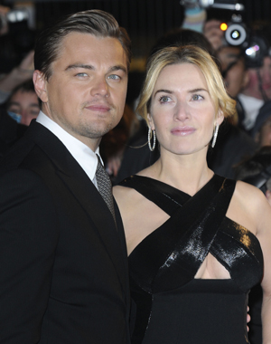 Leonardo DiCaprio and Kate Winslet at the European premiere of Revolutionary Road