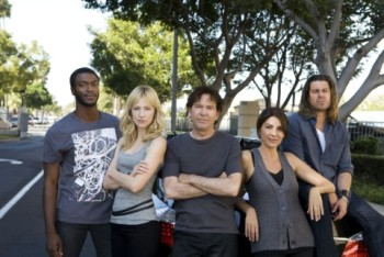 The Leverage cast goes home