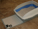Cat litter box cover
