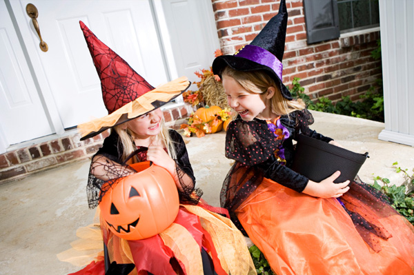 Family-friendly healthy Halloween