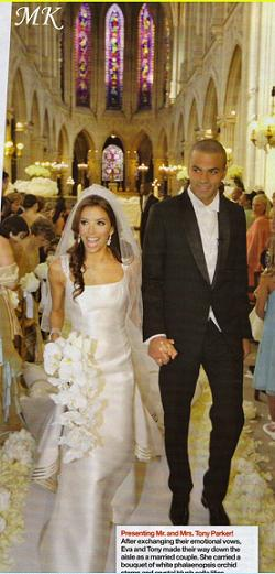 eva longoria wedding castle pics