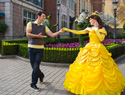 Lovesick guy proposes to five Disney princesses... and Gaston, too