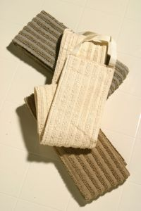 The Madison Collection Linen Loofah 