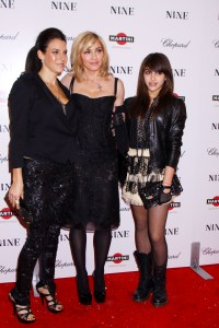 Madonna, daughter Lourdes and Jessica Seinfeld