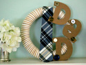 Make a fun DIY wreath for Father's Day