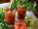 How to make your own heirloom tomato bloody mary mix