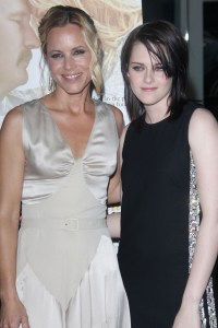 Maria Bello and Kristen Stewart