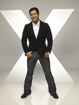 X marks the spot for Mario Lopez