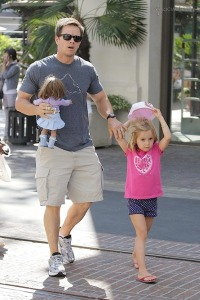 Mark Wahlberg and his first baby girl!