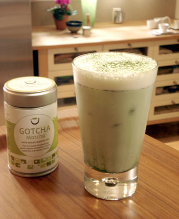 Cooking with matcha green tea