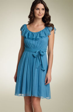 Max & Chloe chiffon dress for spring