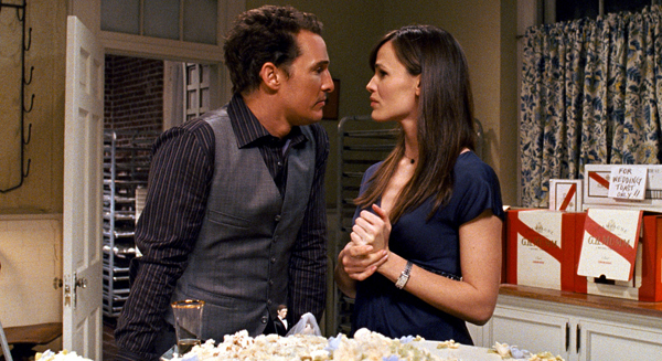 Matt and Jenn in Ghosts of Girlfriends Past