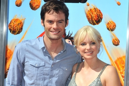 Meatballs stars Anna Faris and Bill Hader