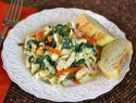 Meatless Monday: Chicken-less Florentine