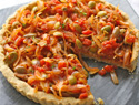 Meatless Monday: Try onion, tomato and olive pissaladière for a French-style pizza