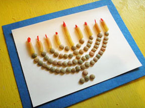 menorah craft