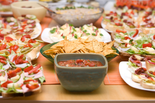 Mexican takeout for party