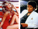 Michael Jackson and Farrah Fawcett die