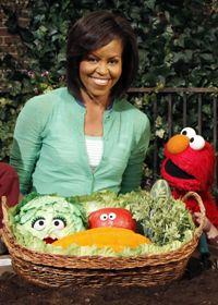 Michelle Obama makes a new friend