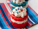 Little handheld 4th of July desserts that are big on patriotism