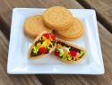 Cookie mini tacos are so dang cute we can hardly stand it