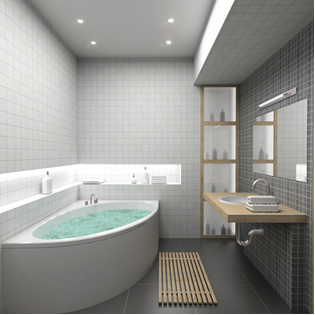 Ideas for designing a minimalist bathroom