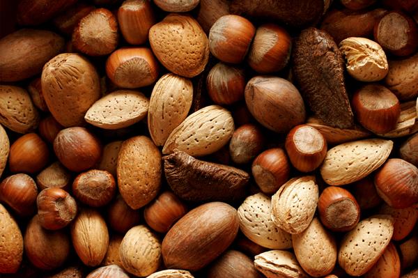 Olika slags nötter
