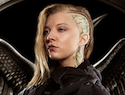 Two fantasy worlds collide with Natalie Dormer as Cressida in Mockingjay