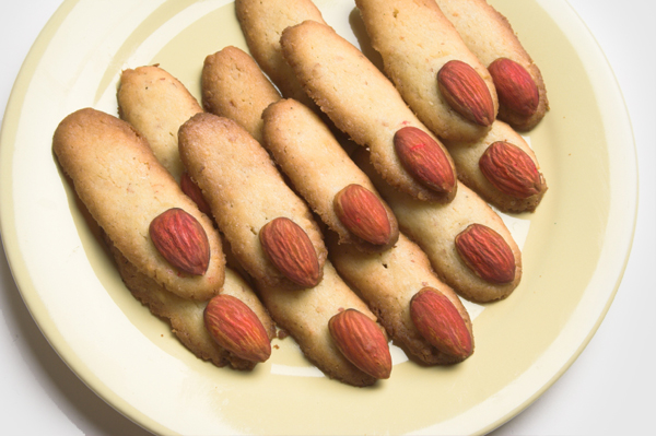 Monster Lady Finger Cookies