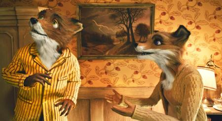 George Clooney and Meryl Streep in Wes Anderson's Fantastic Mr Fox