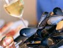 New Year's Recipes: Mussels and Champagne