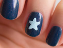 Nail art tip: How to create the perfect star
