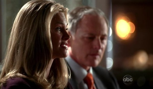 Victor Garber and Natasha Henstridge in Eli Stone
