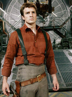 Nathan Fillion on Firefly