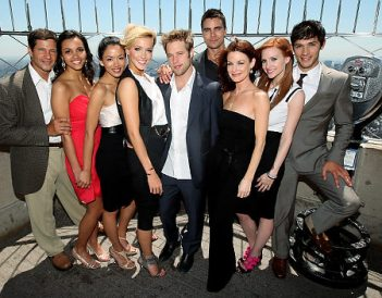 The cast of the new Melrose Place on The CW