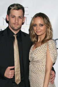 Nicole Richie and husband Joel Madden