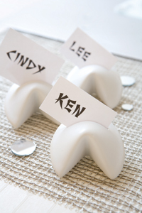 Fortune cookie place cards